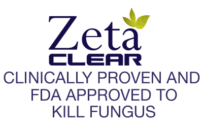 Zeta Clear Fight Unsightly Nail Fungus